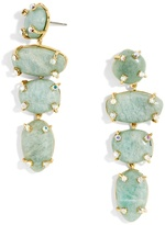 BaubleBar Devina Semi-Precious Drop Earrings