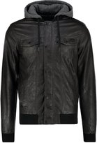 Kaporal Nino Faux Leather Jacket Black