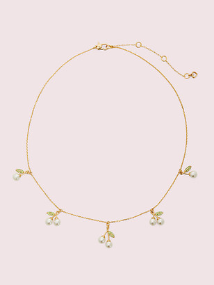Kate Spade Cherie Cherry Scatter Necklace