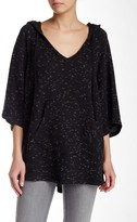 Threads 4 Thought Mabel V-Neck Mixed Knit Poncho