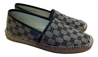 Gucci Blue Cloth Espadrilles