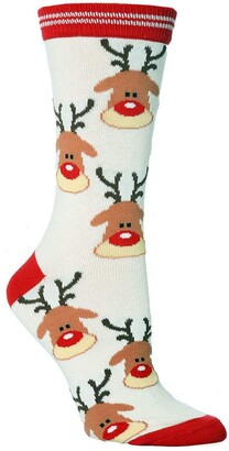 Cocila 2020 Sale Clearance Unisex Christmas Thickness Stockings Cute Cartoon Animal Sleeping Socks Soft Cozy Cotton Knitted Sock for Women Girls Xmas Gift Indoor