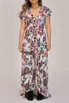 Patrons Of Peace Floral Maxi Dress