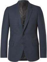 Paul Smith - Blue Soho Slim-fit Gingham Wool Suit Jacket