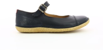 Kickers Hinoe Leather Ballet Pumps