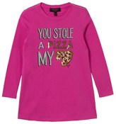 Juicy Couture Pink Sequin Pizza Dress