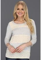 Volcom Little Love Fleece L/S Top (Heather Grey) - Apparel