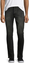 One Teaspoon Mr. Blue Cuffed Jeans, Black