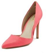 Mia Margo Pointed Toe Synthetic Heels.