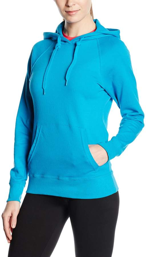 Fruit of the Loom Women's Pull-over Lightweight Hooded Sweat