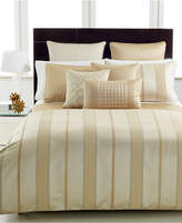 Hotel Collection Closeout! Regal Stripe Queen Comforter Bedding