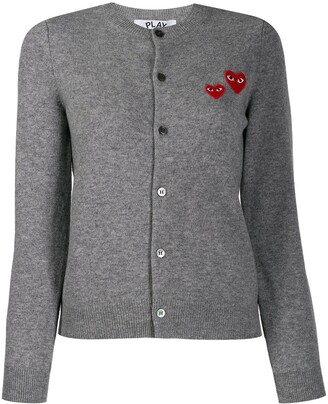 Comme des Garcons embroidered cardigan