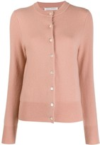 Extreme Cashmere button-up fitted cardigan
