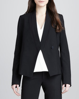 Vince Relaxed Crepe Blazer