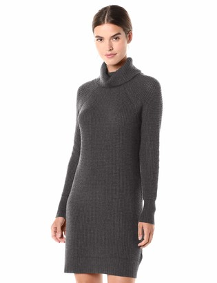 Daily Ritual Amazon Brand Women's Wool Blend Turtleneck Sweater Dress