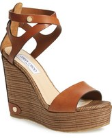 Jimmy Choo 'Noelle' Platform Wedge Sandal (Women)