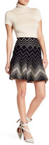 Max Studio Twirl Print Pleated Skirt