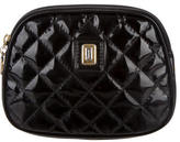 Judith Leiber Glazed Quilted Clutch