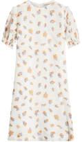 Emilia Wickstead Printed Dress with Silk