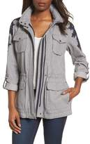 Vince Camuto Applique Cotton Jacket