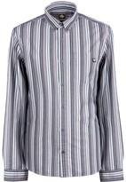 Pretty Green Slim Fit Engineered Stripe Shirt