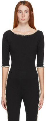 Marc Jacobs Black Capezio Edition The Leotard Bodysuit