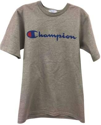 Champion Grey Cotton Tops