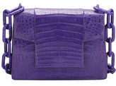 Nancy Gonzalez Crocodile Small Chain-Strap Shoulder Bag