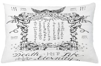 "East Urban Home Occult Indoor / Outdoor Lumbar Pillow Cover Size: 16"" x 26"""
