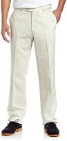 Peter Millar Raleigh Linen-Blend Pants, Stone