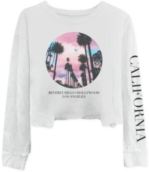 Freeze 24-7 Trendy Plus Size California Long-Sleeve T-Shirt