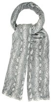 Magaschoni Cashmere Snakeskin Scarf