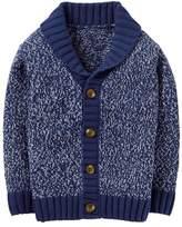 Crazy 8 Marled Shawl Collar Cardigan