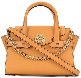 MICHAEL Michael Kors Carmen chain detail satchel bag