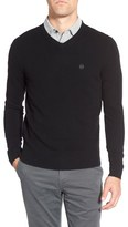 AG Jeans Green Label 'Arbor' Wool & Cashmere V-Neck Sweater