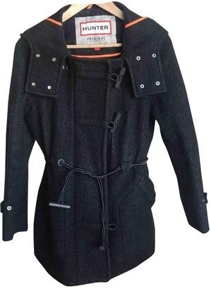 Hunter Black Wool Coat for Women