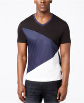 INC International Concepts Men's Diagonal Colorblocked T-Shirt, Created for Macy's