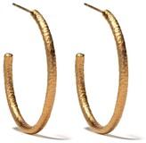 Annoushka 18kt yellow gold Organza hoop earrings