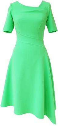 Mellaris Audrey Dress Apple Green Crepe
