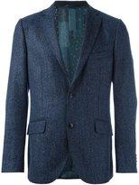Etro double-buttoned formal blazer