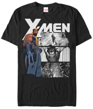 Marvel Men's Comic Collection X-Men The Wolverine Short Sleeve T-Shirt