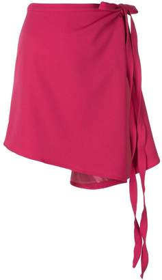 Y/Project asymmetric wrap skirt
