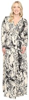 Rachel Pally Plus Size Long Sleeve Full Length Caftan White Label