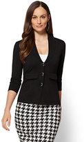 New York & Co. 7th Avenue Sweater Collection - Shawl-Collar Cardigan