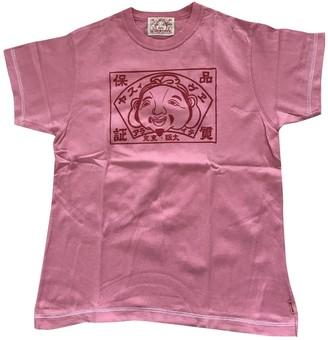 Evisu Pink Cotton Top for Women