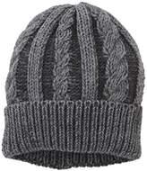 Wrangler Men's Cable Hat Dark Grey Mel Beanie