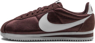 Nike Classic Cortez Nylon 'Red Sepia' Shoes - Size 5.5W
