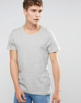 Selected Crew Neck Melanage T-Shirt
