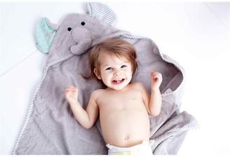 Zoocchini Baby Towel, Elle The Elephant