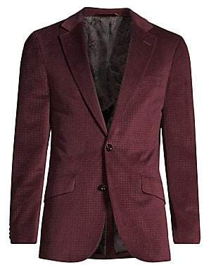 Robert Graham Men's Classic-Fit Wilkes Illusion Houndstooth Single-Breasted Jacket